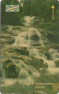 Malaysia (Uniphonekad) - Lata Kedah Waterfalls, 34MSAA, 1992, 500.000ex, Used - Malaysia