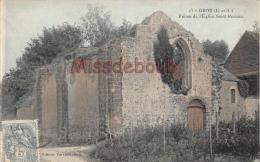 28 - BROU - Ruines De L'Eglise Romaine -  2 Scans - France