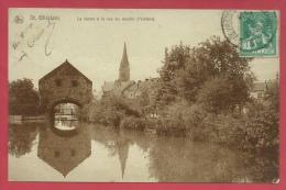 Saint-Ghislain - La Vanne à La Rue Du Moulin ( L'vintière) - 1914 ( Voir Verso ) - Saint-Ghislain