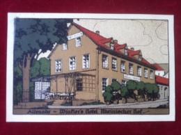 AK Altenahr Steindruck Winklers Hotel Rheinischer Hof 1932 - Bad Neuenahr-Ahrweiler