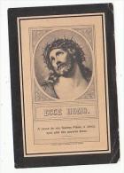 Décès Jules Jean Joseph HUBERLAND Jumet 1831 Prêtre Fleurus Mons Hautrage Chanoine Pénitentier Cathédrale Tournai 1900 - Andachtsbilder