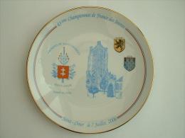 ASSIETTE TIR A L�ARC  - 43 �me CHAMPIONNAT DE FRANCE DES JEUNES SAINT OMER 7 JUILET 2006