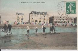 D62 - WIMEREUX - LA PLAGE ET LES CHALETS - Francia