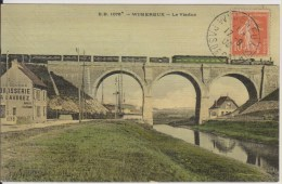 D62 - WIMEREUX - LE VIADUC - (LA SOURCE BRASSERIE A. LAVOGEZ - TRAIN) - Francia