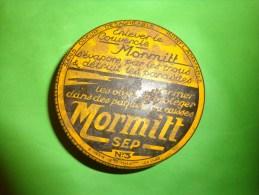 Boite Vide  Publicitaire -diffuseur-MORMITT SEP N°3  Pour Les Mites - Autres