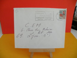 Flamme - 88 Vosges, Vittel, Campagne Thermale - 24.5.1967 - Marcophilie (Lettres)