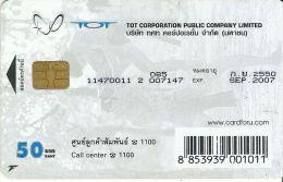 THAILANDE  TELECARTE PHONECARD A PUCE SPORT DE COMBAT LUTTE THAILANDAISE HOMMES TATOUES - Thaïlande
