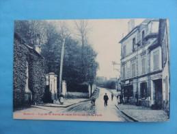 Domont - Rue De La Mairie Et Route Conduisant à La Forét . - Domont