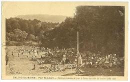 SALINS LES BAINS Stade Et Jeux -orée Des Bois - Fort St André  Jura CPA - Champagnole