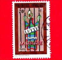 POLINESIA FRANCESE - Usato - 1972 - Lotta Contro L'alcolismo - 20 - Usati