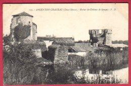 79 ARGENTON-CHATEAU - Ruines Du Chateau De Sanzay - Argenton Chateau
