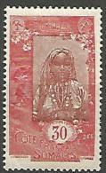 COTE DES SOMALIS  N� 106 NEUF** LUXE SANS CHARNIERE  / MNH