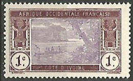 COTE D'IVOIRE  N� 41 NEUF** LUXE SANS CHARNIERE  / MNH