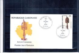 Arts Et Coutumes - FDC Du Gabon - Gabon (1960-...)
