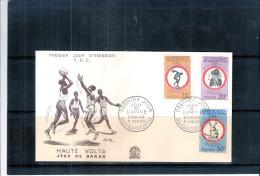 Sports - Jeux De Dakar - FDC De Haute-Volta - Série Complète - Haute-Volta (1958-1984)