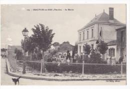 BEAUVOIR Sur MER. - La Mairie.  Superbe Cliché - Beauvoir Sur Mer