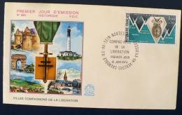 FRANCE 2eme Guerre Mondiale, 30 Eme ANNIVERSAIRE DE LA LIBERATION Yvert N°1797 Fdc - 2. Weltkrieg