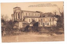 LA  CHAIZE LE VICOMTE   - L'Eglise ST NICOLASconstruite à La Fin Du  XIème Siecle. Pas Courante. - La Chaize Le Vicomte