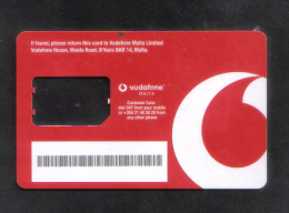MALTA - VODAFONE CARD   USED - Malta