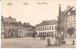 No 8. ATH  Grand'Place 1916 Feldpost Marcovici Re 181  SUPERBE - Ath