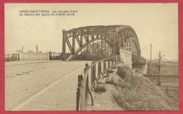 Haine-Saint-Paul - Le Nouveau Pont Au Dessus Des Lignes Du Chemin De Fer - 1924 ( Voir Verso ) - La Louvière