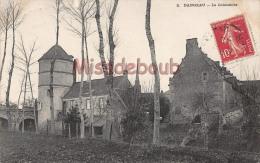 28 - DANGEAU  - Le Colombier - Ecrite 1907   - 2 Scans - Autres Communes