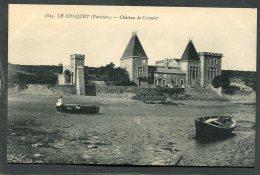 CPA - LE CONQUET - Château De Cosquiez - Le Conquet