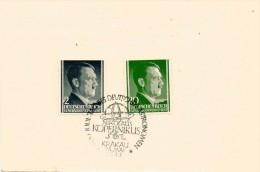 Postkarte 1943 Hitler 2+10 Pf. General-Gouvernment DR Germany Philatelic Trade - Deutschland