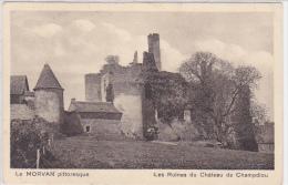 France - Morvan - Les Ruines Du Chateau De Champdiou - Bourgogne