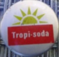 """Tropi Kork Korken Kronkorken Cayenne, french GUYANE """"Bouchon"""" soda water bottle crown cork stopper cap capsule eau"""