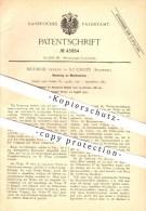 Original Patent - Mermod Frères In Sainte-Croix , VD , 1887 , Musikwerke , Musik , Musikinstrumente , Instrumente !!! - Documents Historiques