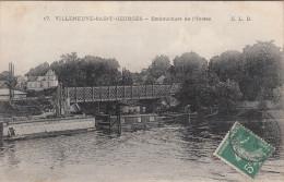 CPA Villeneuve Saint Georges, Embouchure De L'yerres (pk22059) - Villeneuve Saint Georges