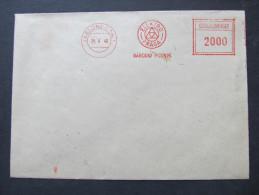 BRIEF Frankotype Postfreistempel 1948 Elektro Praga /// T5661 - Tschechoslowakei/CSSR