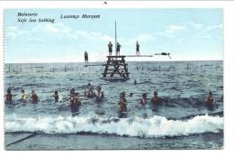 ///   CPA - Afrique - Mozambique - LOURENCO MARQUES - Balneario Safe Sea Bathing   // - Mozambique