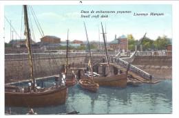 ///   CPA - Afrique - Mozambique - LOURENCO MARQUES - Doca De Embarcacoes Pequenas  Small Craft Dock   // - Mozambique