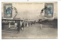 ///   CPA - Afrique - Souvenir De DJIBOUTI - Le Débarcadère  // - Djibouti