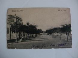 Postcard/Postal  - Cidade Da Praia - Rua Do Corvo - Cap Vert