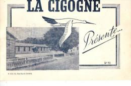 """MILITARIA  Chantier De Jeunesse N 31 ARUDY  Plaquette """" La Cigogne """"  18 Pages  4 Scans - 1939-45"""