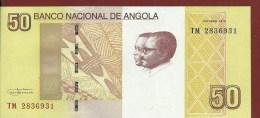 Angola  New     50     Kwanzas    2012    UNC -    -  RAR - Angola