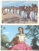 PARAGUAY 4 POSTALES Y UNA FOTO TODAS DEL FOTOGRAFO CLAUS HENNING CIRCA 1958 TBE RARES ET BELLES - Paraguay