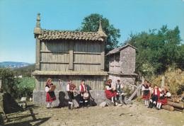 Ph-CPSM Espagne Folklore Gallego (Galicia) Trouleando Divirtiendose - Espagne