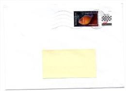 Belgique Belgium Anemoonvis Poisson-clown VOID Sur Lettre RRRRR! - Postage Labels