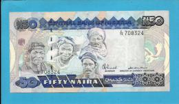 NIGERIA - 50 NAIRA - ND ( 1991 ) - Pick 27.a - Sign. 8 - UNC. - Serie C/78 - CENTRAL BANK OF NIGERIA - Nigeria