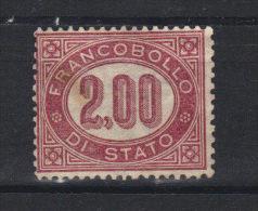 ITALIE   Service N° 6 *  Sans Gomme  (1875) - Servizi