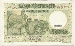 Belgium - 1944 - 50 Francs=100 Belgas - P106 - XF - [ 2] 1831-... : Belgian Kingdom