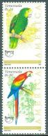 VENEZUELA 1993 AMERICA-UPAEP PAIR, PARROTS** (MNH) - Papegaaien, Parkieten