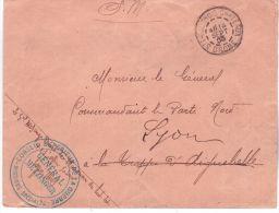 1903- Manoeuvres - Env. De St Paul Trois-Chateaux ( Drome)  Cachet Du Général METZINGER - Bolli Militari A Partire Dal 1940 (fuori Dal Periodo Di Guerra)