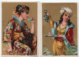 Paul MAIRESSE  à  Cambrai ( Nord ) -  Chicorée à La Française - Boissons :  Thé, Café - Kaufmanns- Und Zigarettenbilder