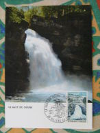 Carte Maximum Card Saut Du Doubs Cascade Chute D'eau Waterfall Ref 25875 - Maximum Cards