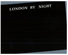 (222) Black Card - Carte Noire - London By Night - London La Nuit - Londres